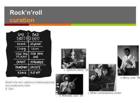 Rock'n'Roll Curation